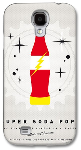 Super Powers Galaxy S4 Cases - My SUPER SODA POPS No-18 Galaxy S4 Case by Chungkong Art