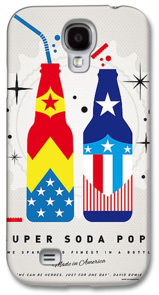 Super Powers Galaxy S4 Cases - My SUPER SODA POPS No-24 Galaxy S4 Case by Chungkong Art