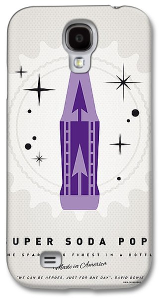 Graphic Mixed Media Galaxy S4 Cases - My SUPER SODA POPS No-25 Galaxy S4 Case by Chungkong Art
