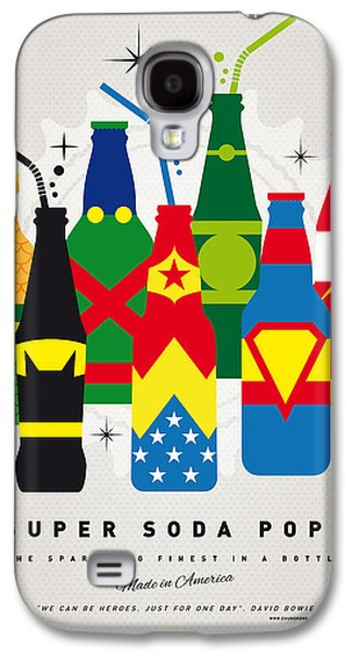 The Americas Galaxy S4 Cases - My SUPER SODA POPS No-26 Galaxy S4 Case by Chungkong Art