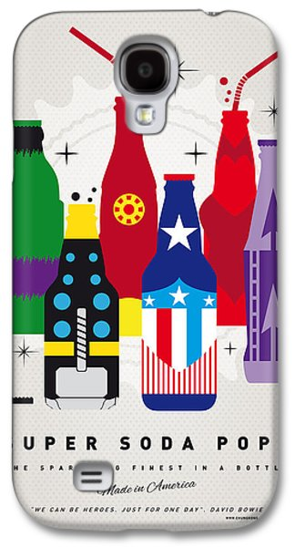 Super Powers Galaxy S4 Cases - My SUPER SODA POPS No-27 Galaxy S4 Case by Chungkong Art