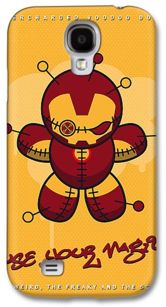 My Supercharged Voodoo Dolls Ironman Galaxy S4 Case by Chungkong Art