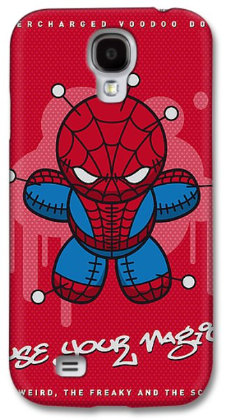 My Supercharged Voodoo Dolls Spiderman Galaxy S4 Case by Chungkong Art
