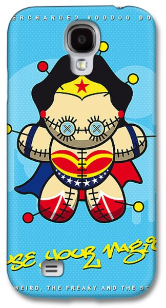 My Supercharged Voodoo Dolls Wonder Woman Galaxy S4 Case by Chungkong Art