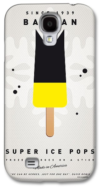 Game Galaxy S4 Cases - My SUPERHERO ICE POP - BATMAN Galaxy S4 Case by Chungkong Art