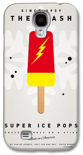 Kids Books Galaxy S4 Cases - My SUPERHERO ICE POP - The Flash Galaxy S4 Case by Chungkong Art