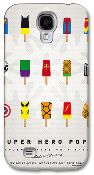 Printed Galaxy S4 Cases - My SUPERHERO ICE POP UNIVERS Galaxy S4 Case by Chungkong Art