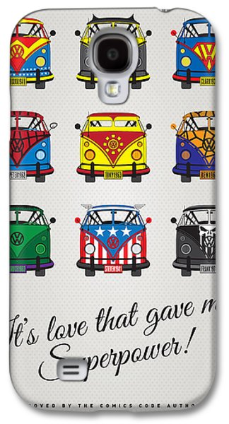 Simple Galaxy S4 Cases - MY SUPERHERO-VW-T1-universe Galaxy S4 Case by Chungkong Art