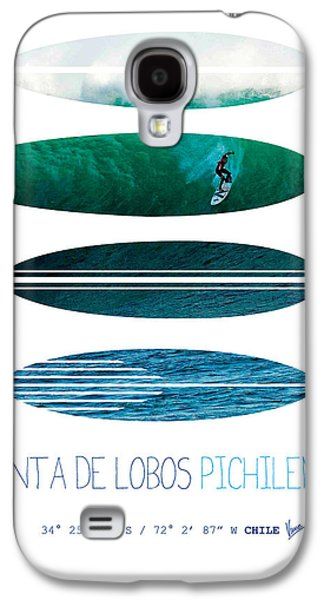 Dungeons Galaxy S4 Cases - My Surfspots poster-3-Punta de Lobos-Chile Galaxy S4 Case by Chungkong Art