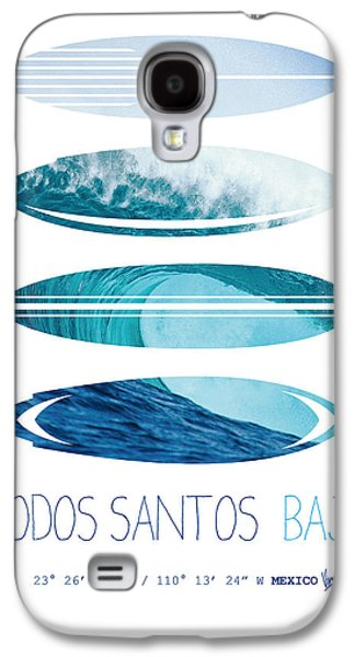 Dungeons Galaxy S4 Cases - My Surfspots poster-6-Todos-Santos-Baja Galaxy S4 Case by Chungkong Art