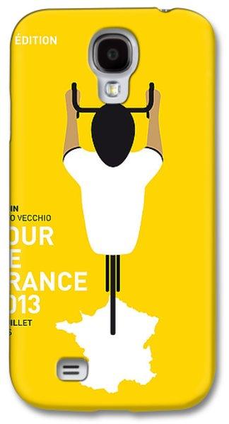 My Tour De France Minimal Poster Galaxy S4 Case by Chungkong Art