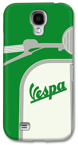 My Vespa - From Italy With Love - Green Galaxy S4 Case by Chungkong Art