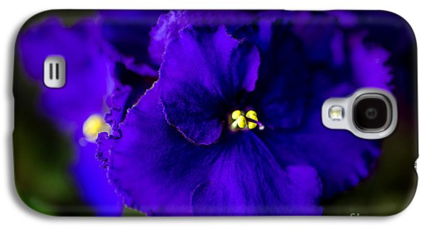 Tamyra Ayles Galaxy S4 Cases - My Violet I Galaxy S4 Case by Tamyra Ayles