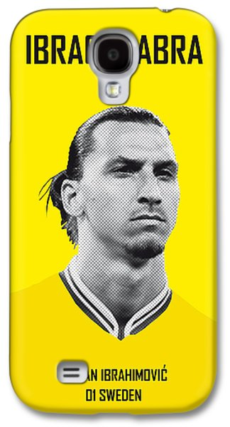 My Zlatan Soccer Legend Poster Galaxy S4 Case by Chungkong Art