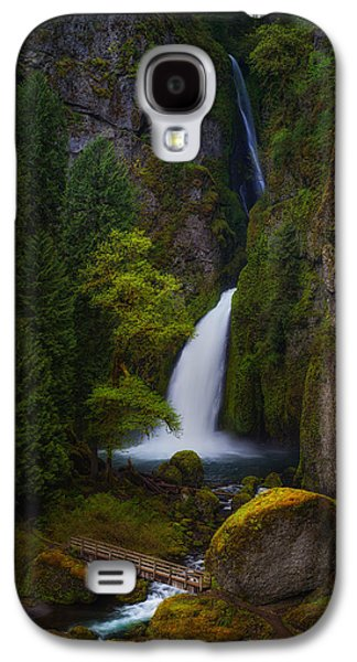 Landscape Acrylic Prints Galaxy S4 Cases - Mysteries of Wahclella Galaxy S4 Case by Darren  White