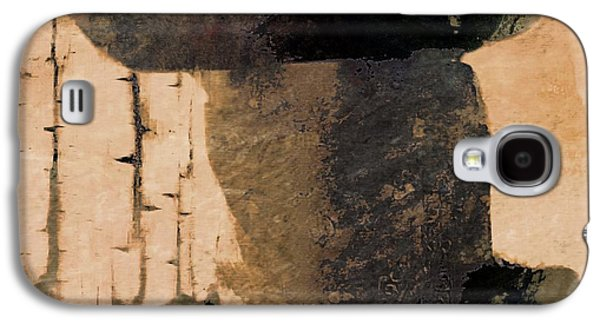 Old Western Photos Galaxy S4 Cases - Mysterious Cowboy  Galaxy S4 Case by Aaron Berg
