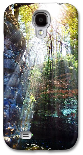 Sun Galaxy S4 Cases - Mystic River Galaxy S4 Case by Jeff Klingler