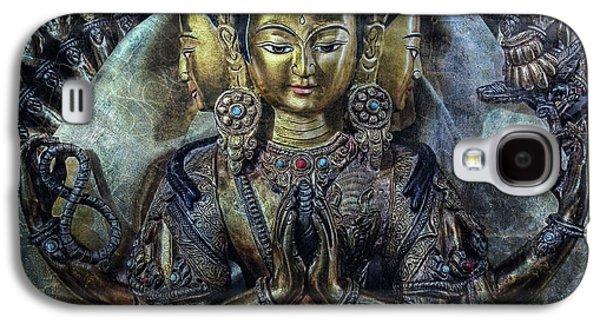 Statue Portrait Galaxy S4 Cases - Mystical India Galaxy S4 Case by Joachim G Pinkawa