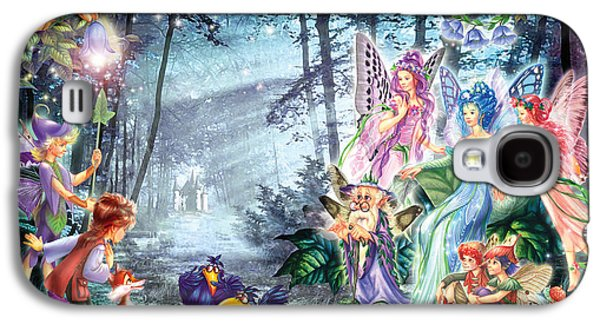 Fantasy Photographs Galaxy S4 Cases - Mystical Meeting  Galaxy S4 Case by Zorina Baldescu