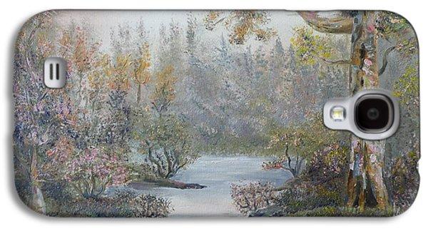 Mystifying Galaxy S4 Cases - Mystifying Forest Galaxy S4 Case by Ethos Lambousa