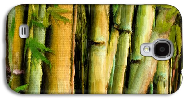 Bamboo Galaxy S4 Cases - Mystique Beauty- Bamboo Artwork Galaxy S4 Case by Lourry Legarde