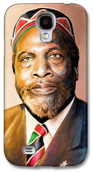 Mzee Jomo Kenyatta Galaxy S4 Case by Anthony Mwangi
