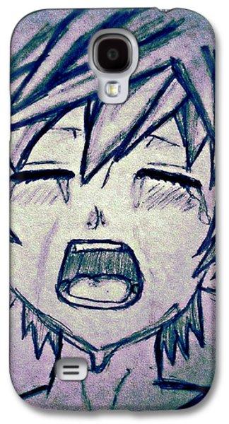Weeping Drawings Galaxy S4 Cases - Nah Nah Nai Galaxy S4 Case by Denise Honaker