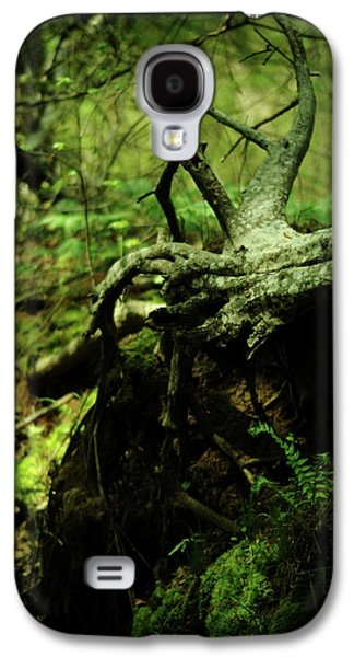 Tree Roots Galaxy S4 Cases - Naked Awakening Galaxy S4 Case by Rebecca Sherman