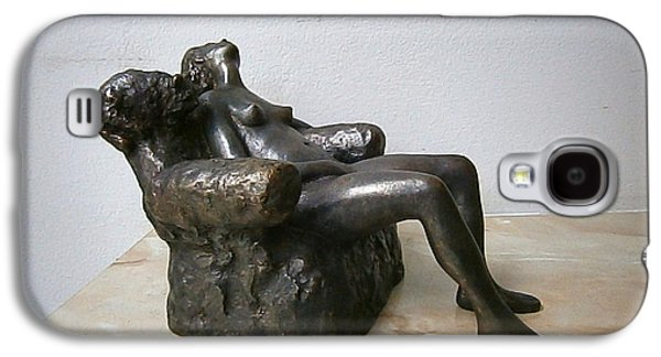 Girl Sculptures Galaxy S4 Cases - Naked girl Galaxy S4 Case by Nikola Litchkov