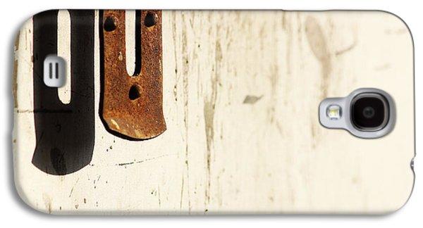 Entrance Door Galaxy S4 Cases - Namaste Auntie Galaxy S4 Case by Prakash Ghai