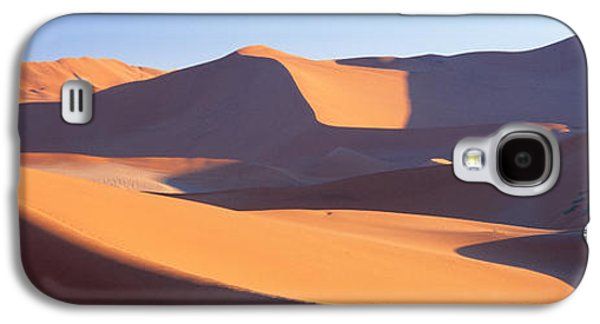 Mounds Galaxy S4 Cases - Namib Desert, Nambia, Africa Galaxy S4 Case by Panoramic Images