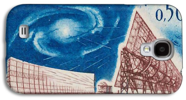 Constellations Paintings Galaxy S4 Cases - Nancay radiotelescope 1963 Galaxy S4 Case by Lanjee Chee