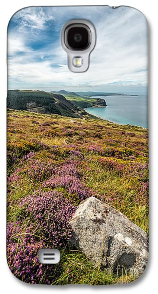 Walkway Digital Art Galaxy S4 Cases - Nant Gwrtheyrn Galaxy S4 Case by Adrian Evans