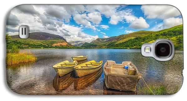 Waterscape Galaxy S4 Cases - Nantlle Lake Galaxy S4 Case by Adrian Evans