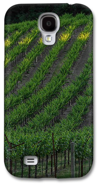 Napa Valley Vineyard Galaxy S4 Cases - Napa Valley Vineyard Galaxy S4 Case by Steve Gadomski