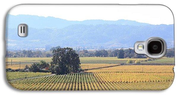 Vineyard In Napa Galaxy S4 Cases - Napa Valley Vista Galaxy S4 Case by Penelope Moore