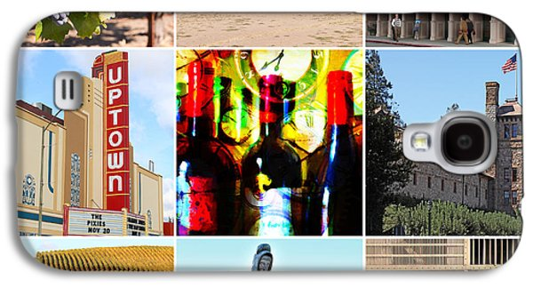 Napa Valley And Vineyards Galaxy S4 Cases - Napa Valley Wine Country 20140905 Galaxy S4 Case by Wingsdomain Art and Photography