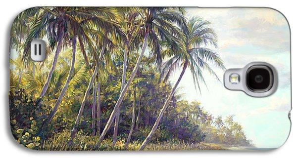 Beach Landscape Galaxy S4 Cases - Naples Beach Access Galaxy S4 Case by Laurie Hein