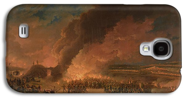 Emperor Galaxy S4 Cases - Napoleon 1769-1821 Visiting The Bivouacs On The Eve Of The Battle Of Austerlitz, 1st December 1805 Galaxy S4 Case by Baron Louis Albert Bacler d