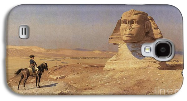 Gerome Galaxy S4 Cases - Napoleon Bonaparte Before The Sphinx Galaxy S4 Case by Photo Researchers