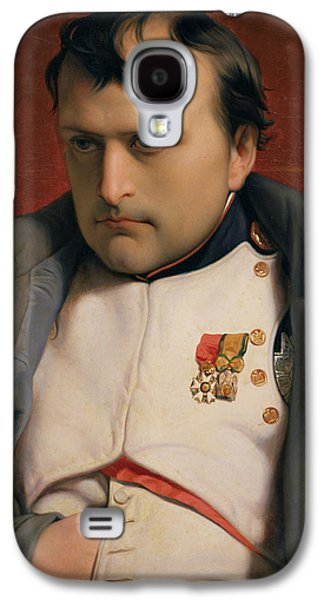 Thought Galaxy S4 Cases - Napoleon in Fontainebleau Galaxy S4 Case by Hippolyte Delaroche