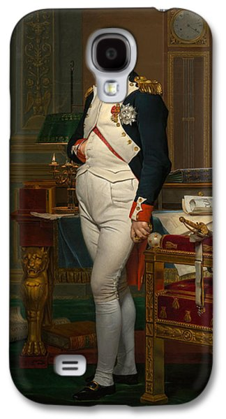 Leaders Galaxy S4 Cases - Emperor Napoleon in His Study at the Tuileries Galaxy S4 Case by War Is Hell Store