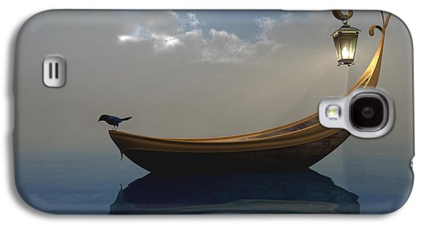 Storm Digital Art Galaxy S4 Cases - Narcissism Galaxy S4 Case by Cynthia Decker