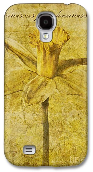 Narcissus Pseudonarcissus Galaxy S4 Case by John Edwards