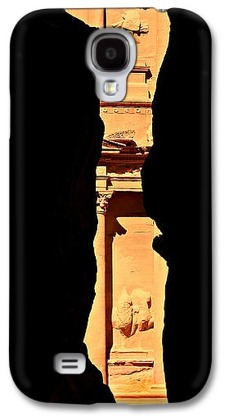 Nabatean Galaxy S4 Cases - Narrow Is The Way Galaxy S4 Case by Stephen Stookey