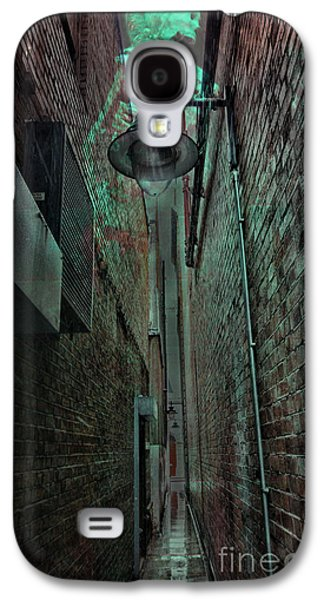 Skeleton Galaxy S4 Cases - Narrow Street Galaxy S4 Case by Jasna Buncic