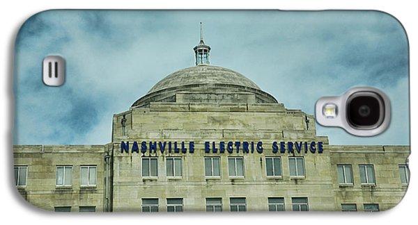 Nashville Electric Service Building Galaxy S4 Case by Jai Johnson