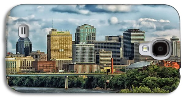Nashville Tennessee Galaxy S4 Cases - Nashville Panorama Galaxy S4 Case by Mountain Dreams