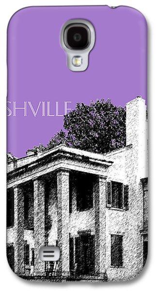 Nashville Tennessee Galaxy S4 Cases - Nashville Skyline Belle Meade Plantation - Violet Galaxy S4 Case by DB Artist
