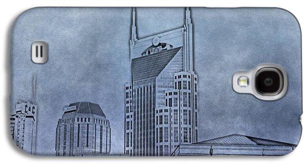 Nashville Skyline Sketch Galaxy S4 Case by Dan Sproul